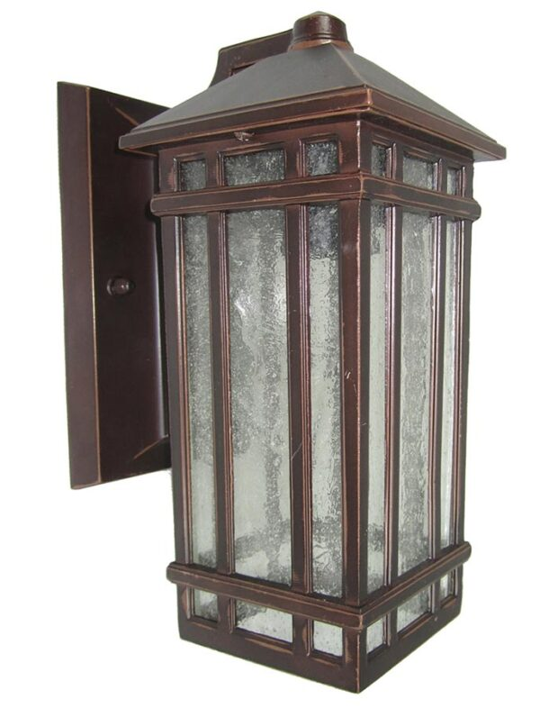 Elstead Chedworth 1 Light Outdoor Wall Lantern Old Bronze