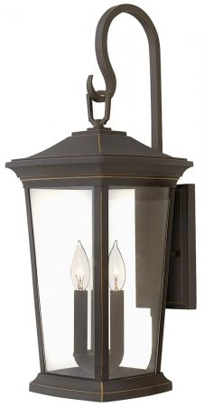 Hinkley Bromley 3 Light Large Outdoor Wall Lantern Oil Rubbed Bronze