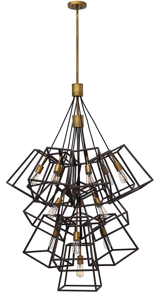 Hinkley Fulton Large 13 Light Chandelier Pendant