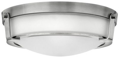 Hinkley Hathaway 3 Light Flush Mount Ceiling Light Antique Nickel