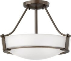 Hinkley Hathaway 2 Light Semi Flush Mount Ceiling Light Olde Bronze