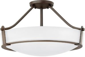 Hinkley Hathaway 4 Light Semi Flush Mount Ceiling Light Olde Bronze