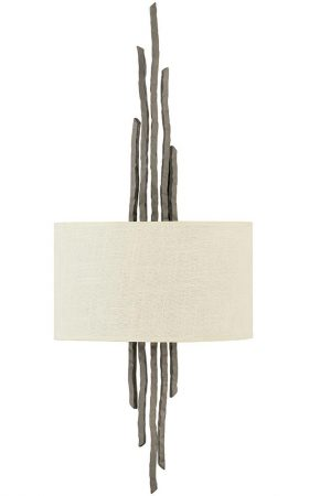 Hinkley Spyre 2 Lamp Wall Light Metallic Matte Bronze