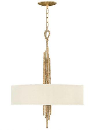 Hinkley Spyre 6 Light Ceiling Pendant Champagne Gold