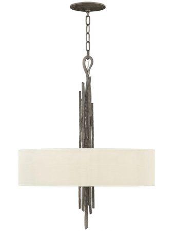 Hinkley Spyre 6 Light Ceiling Pendant Metallic Matte Bronze