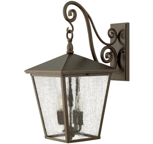 Hinkley Trellis 4 Light Large Outdoor Wall Lantern Regency Bronze