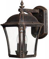 Hinkley Wabash 2 Light Medium Outdoor Wall Lantern Mocha IP44
