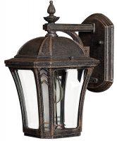 Hinkley Wabash 1 Light Small Outdoor Wall Lantern Mocha IP44