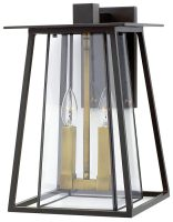 Hinkley Walker 2 Light Large Outdoor Wall Lantern Buckeye Bronze IP44