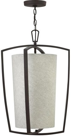 Hinkley Blakely Buckeye Bronze 3 Lamp Kitchen Pendant Light