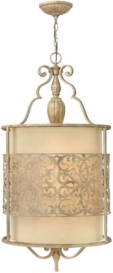 Hinkley Carabel 4 Light Large Ceiling Pendant Brushed Champagne