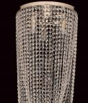 Impex Beehive 5 Light 50cm Flush Crystal Chandelier 2m Drop