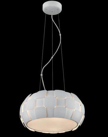 Impex Brigitte Modern White 5 Light Low Energy Pendant