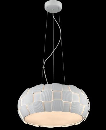 Impex Brigitte Modern White 6 Light Low Energy Pendant