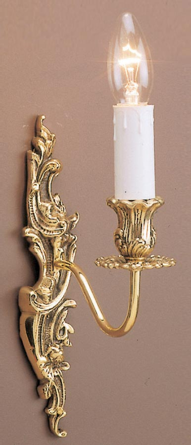 Impex Dauphine Louis Philippe Style Single Wall Light Solid Brass