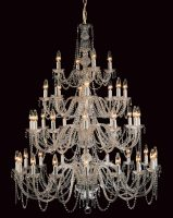 Impex Modra Very Large 40 Light Georgian Style Chandelier Strass Crystal