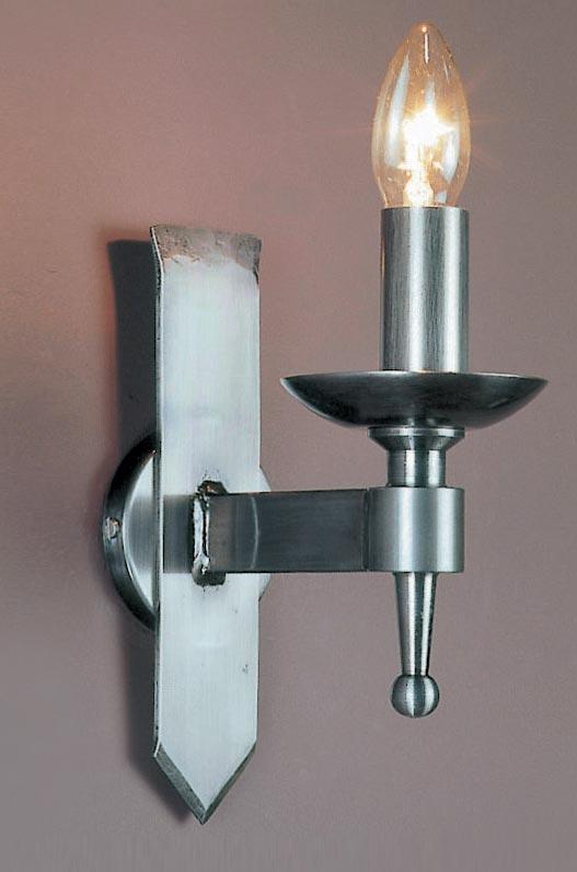 Impex saxon sterling finish iron work single gothic wall light aloadofball Gallery