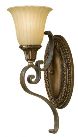 Feiss Kelham Hall British Bronze Traditional Single Wall Sconce