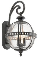 Kichler Halleron 3 Light Medium Outdoor Wall Lantern Londonderry IP44