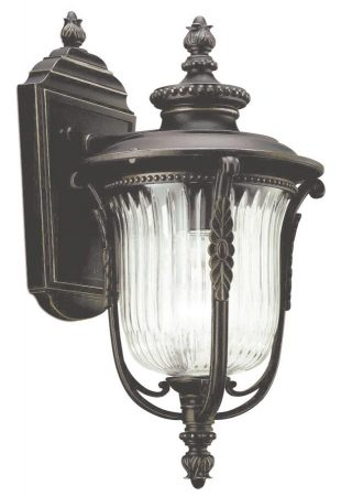 Kichler Luverne 1 Light Small Outdoor Wall Lantern Oil Rubbed Bronze