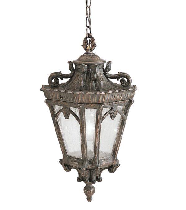 Kichler Tournai 1 Light Medium Outdoor Porch Chain Lantern Londonderry