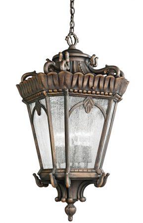 Kichler Tournai 4 Light Extra Large Hanging Outdoor Lantern Londonderry