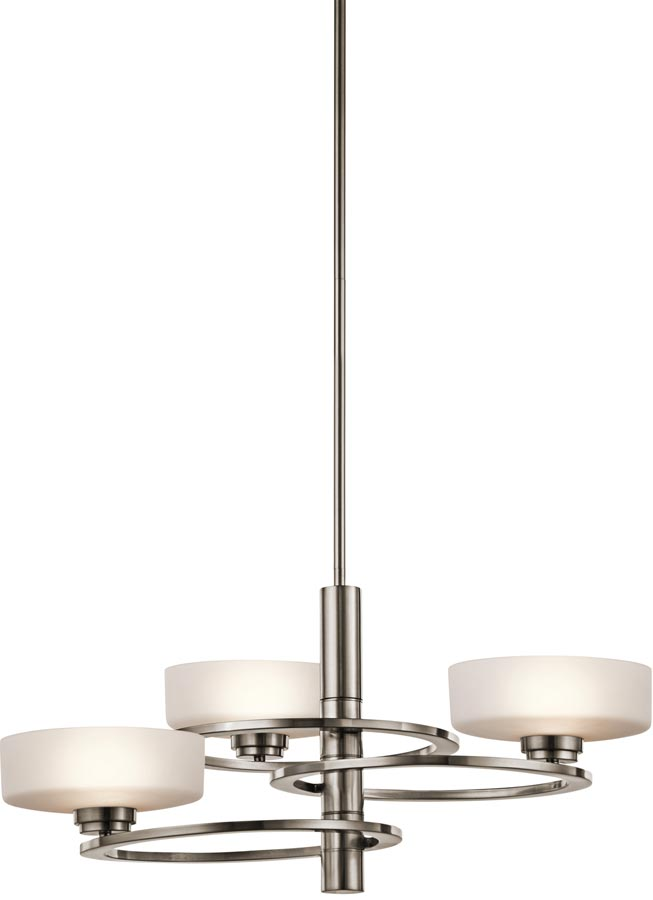 Kichler aleeka 3 light contemporary chandelier classic pewter aleeka3 kichler aleeka 3 light contemporary chandelier classic pewter aloadofball Image collections