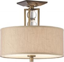 Kichler Celestial Small 3 Light Semi Flush Cambridge Bronze