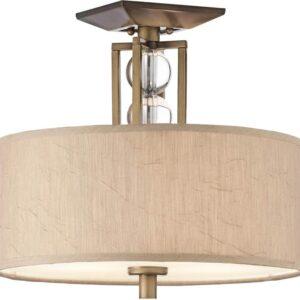 Kichler Celestial Small 3 Light Semi Flush Cambridge Bronze
