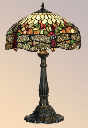 Large Dragonfly 400mm Tiffany Table Lamp