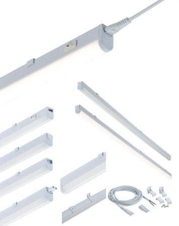 Kitchen Under Cabinet 7w LED Strip Light 4000k Cool White 230v