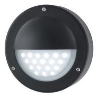 Modern LED Outdoor Mini Garden Wall Step Light Black