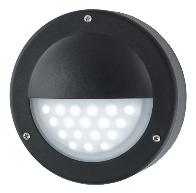 Modern led outdoor mini garden wall step light black 8744bk modern led outdoor mini garden wall step light black aloadofball Gallery