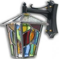 Leaded Outdoor Lanterns