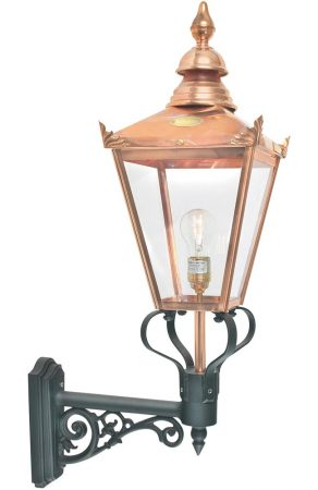 Norlys Chelsea 1 Light Copper Upward Outdoor Wall Lantern