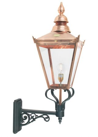 Norlys Chelsea Grande 1 Light Copper Outdoor Wall Lantern