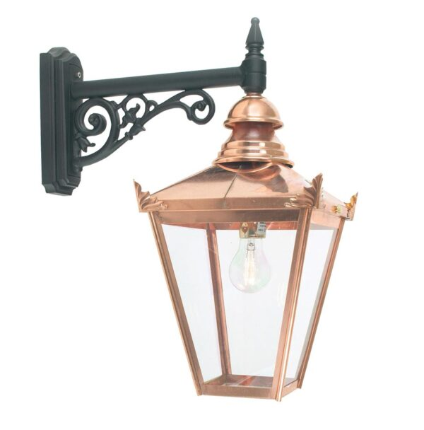 Norlys Chelsea 1 Light Copper Downward Outdoor Wall Lantern