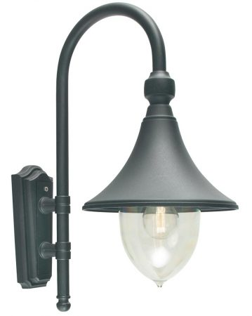 Norlys Firenze 1 Light Outdoor Wall Lantern Black