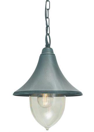 Norlys Firenze 1 Light Hanging Outdoor Porch Lantern Verdigris