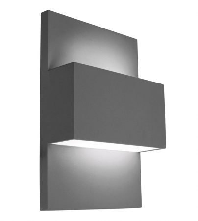 Norlys Geneve Up & Down Outdoor Wall Light Graphite