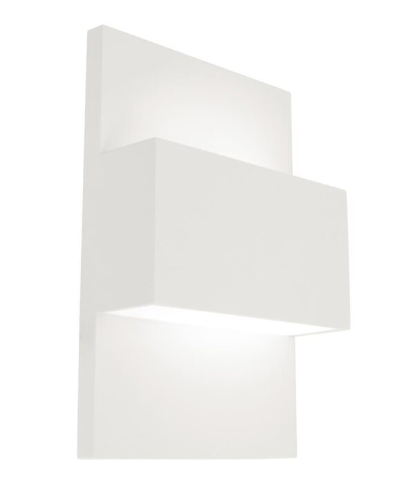 Norlys Geneve Up & Down Outdoor Wall Light White