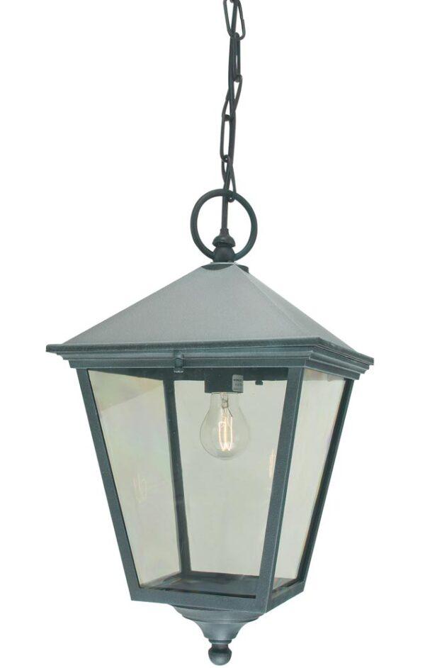 Norlys Turin Grande Hanging Outdoor Porch Lantern Verdigris