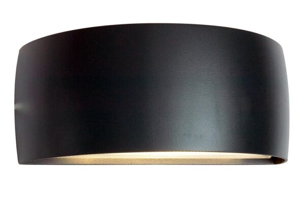 Norlys Vasa Up & Down Outdoor Wall Light Black IP65
