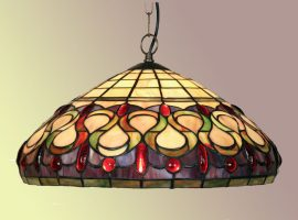 Stunning Oberon Tiffany Pendant Light