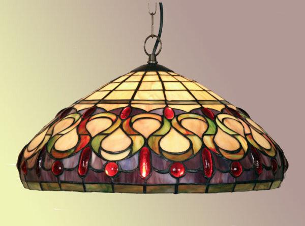 Stunning Oberon Tiffany Pendant Light