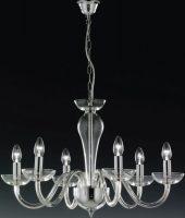 Oxford Handmade Italian 6 Light Lead Crystal Chandelier