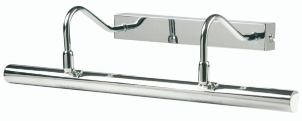 Chrome Finish 492mm Twin Arm Picture Light
