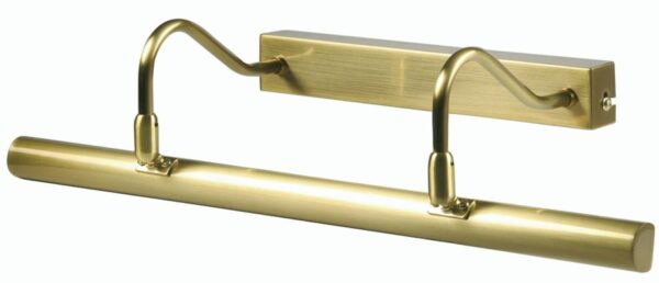 Satin Brass 492mm Twin Arm Picture Light