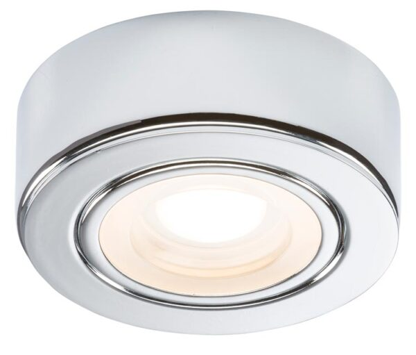 Kitchen Under Cabinet 2w Warm White LED Light Polished Chrome 230v