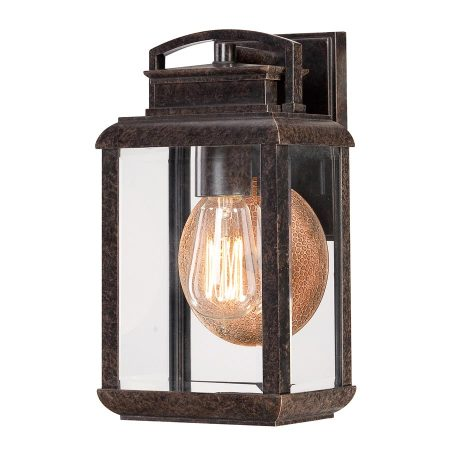 Quoizel Byron 1 Light Small Outdoor Wall Lantern Imperial Bronze